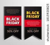 twin pricetag bookmark mark... | Shutterstock .eps vector #1815920825