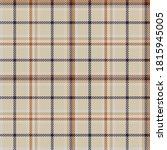 orange glen plaid textured... | Shutterstock .eps vector #1815945005