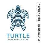 turtle logo graphic design... | Shutterstock .eps vector #1815958352