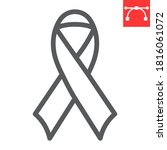 worlds aids day line icon  aids ... | Shutterstock .eps vector #1816061072