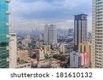 Manila   Feb 12  City Scape Of...