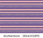 seamless geometric pattern with ... | Shutterstock .eps vector #1816141892