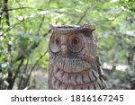 A Closeup Shot Of A Wooden...