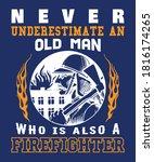 Firefighter T Shirt For Fireman ...