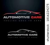 car logo  automobile logo ...   Shutterstock .eps vector #1816224275