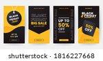 black friday stories template... | Shutterstock .eps vector #1816227668