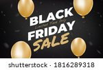 black friday sale poster with...   Shutterstock .eps vector #1816289318