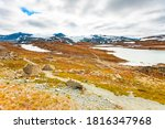 Summer Mountains Landscape In...
