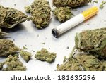 marijuana one hitter bowl or... | Shutterstock . vector #181635296