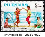 philippines   circa 1963  a... | Shutterstock . vector #181637822