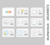 infographics elements  set of...