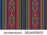 seamless ethnic ornament for... | Shutterstock .eps vector #1816403825