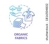 organic fabrics blue gradient... | Shutterstock .eps vector #1816504832