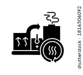 heat recovery system black... | Shutterstock .eps vector #1816506092