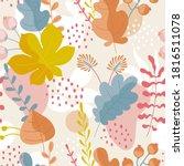 seamless ornamental pattern... | Shutterstock .eps vector #1816511078
