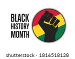 black history month. holiday...   Shutterstock .eps vector #1816518128