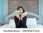 Rich Business Asian Thai Woman...