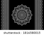 Set Of Mandala Pattern And...
