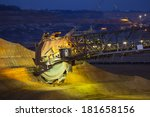 A Giant Bucket Wheel Excavator...