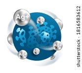 silver proteinate   colloidal... | Shutterstock .eps vector #1816583612