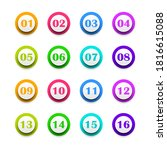 set color collection point 1 to ... | Shutterstock .eps vector #1816615088