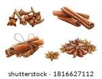 Cinnamon  Star Anise And Clove...