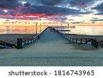 Colorful Sunset On Marine...