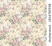 seamless stylish pattern from... | Shutterstock . vector #1816785938