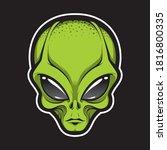 Alien Face Tee Stump  Humanoid...
