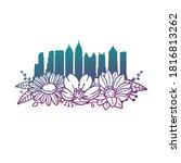 Atlanta  Ga  Usa  Flowers With...