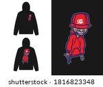 character street wear design... | Shutterstock .eps vector #1816823348
