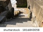 Stone Steps Leading Down To A...