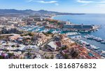 Aerial View Of Downtown Cabo...