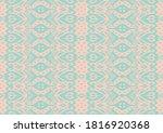 lace border. ikat seamless...   Shutterstock .eps vector #1816920368