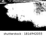 abstract background. monochrome ... | Shutterstock . vector #1816942055