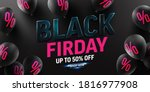 black friday sale poster with... | Shutterstock .eps vector #1816977908