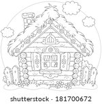 Rustic Log House