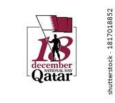 18 th december banner 141... | Shutterstock .eps vector #1817018852