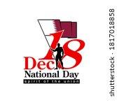 18 th december banner 141... | Shutterstock .eps vector #1817018858