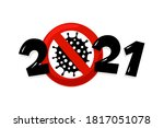 Happy New Year 2021 Number With ...