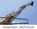 Tall Extendable Fire Ladder...