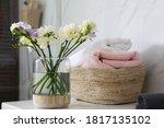 Beautiful Freesia Flowers And...