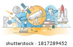 astronomy knowledge study about ...   Shutterstock .eps vector #1817289452