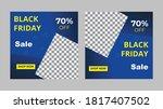 black friday sale banner ... | Shutterstock .eps vector #1817407502