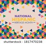background  hispanic and latino ...   Shutterstock .eps vector #1817470238