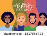 national hispanic heritage...   Shutterstock .eps vector #1817556725