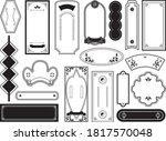 chinese frame decorative frame... | Shutterstock .eps vector #1817570048
