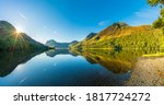 Morning Panorama Of Buttermere...