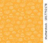 Seamless Pattern Bakery  Vector ...