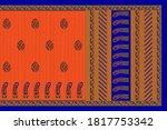 abstract mixed patterns art... | Shutterstock . vector #1817753342